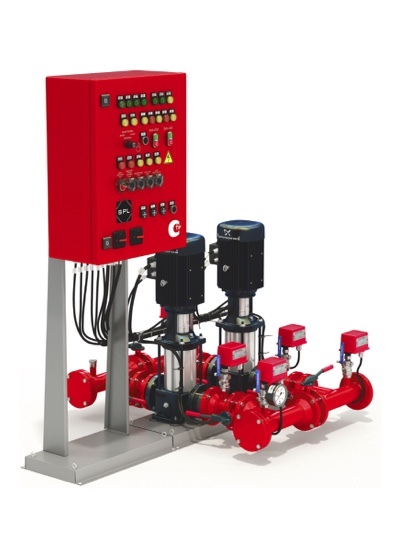 Насосные установки для систем пожаротушения SPL®